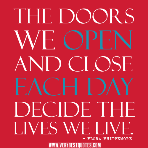 Quotes About Doors Cool 2016 The Year Of Open Doors  Angela M Caldwell